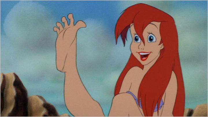 the little mermaid's self sacrifice and growth